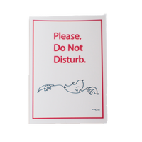 Do Not Disturb STICKER(off white)