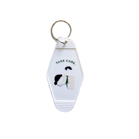 Motel keyring (green)