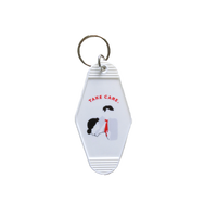 Motel Keyring(red)