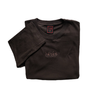 """Love"" Long sleeve Tee(charcoal)"