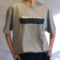 パロディtシャツ(グレー)