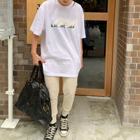パロディBALENCIAGA ユニセックスTシャツ(ホワイト)