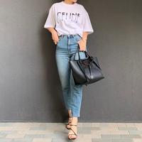 ユニセックスパロディフロッキープリント tシャツ(ホワイト)