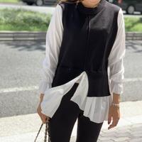 ドッキングシャツ(ブラック)