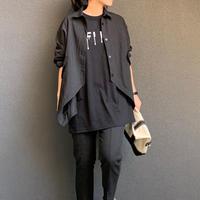デザインシャツ(ブラック)