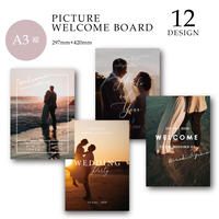 [A3 縦] WELCOME BOARD / PICTURE / 12 design