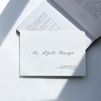 INVITATION / 宛名印刷