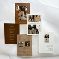PROFILE CARD No.3 / 6 piece