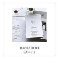 [ SAMPLE ] INVITATION