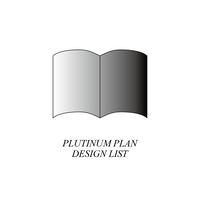 【プロフィールブック デザインLIST / 閲覧用】  プラチナプラン