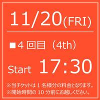 My KITKAT 11/20(FRI)Start17:30【1Drink付】