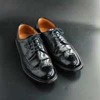 ★リーガル REGAL 24cm 特別価格★ 1点限り!黒 ブラック 外羽根 ウイングチップ ビジネスシューズ 革靴 本革 靴
