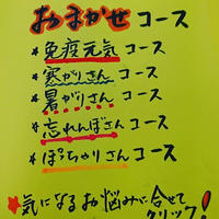*10日間-¥3800です!!!(税込送料込)各コースどれでも。気になる方にプレゼントにもどうぞ!!!(本来約税込価格¥5000ほどの商品です)