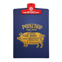 PORKCHOP - CLIPBOARD/NAVY×RED