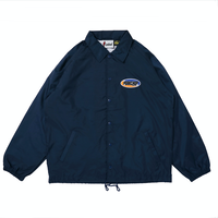 PORKCHOP - 2nd Oval COACH JKT (NAVY)