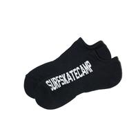SURF SKATE CAMP - ANKLE SOCKS (BLACK)