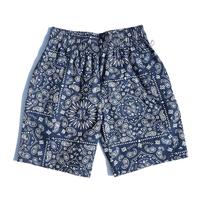 COOKMAN - Chef Short Pants 「Paisley」ネイビー