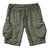 LIBERAIDERS - OVERDYED BDU SHORTS (OLIVE)