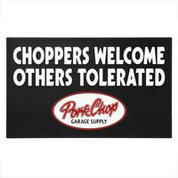 """PORKCHOP - WELCOME RUBBER MAT """"CHOPPERS"""""""