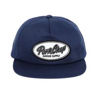 PORKCHOP - SCRIPT TRUCKER CAP/NAVY