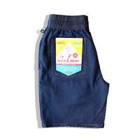 COOKMAN - Chef Short Pants 「DENIM」 ver3.0