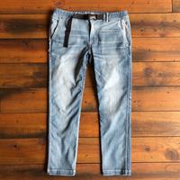 BLUE SAKURA - JERSEY DENIM CLIMBING PANTS (USED)