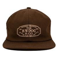 THE H.W. DOG & CO.  - TRUCKER キャップ (ブラウン)