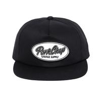 PORKCHOP - SCRIPT TRUCKER CAP/BLACK