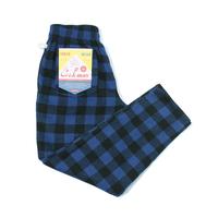 COOKMAN - Chef Pants 「Nel Buffalo Check」 Blue