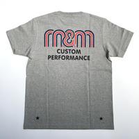 M&M CUSTOM PERFORMANCE  - PRINT S/S T-SHIRT 21-MT-0021 (GRAY)