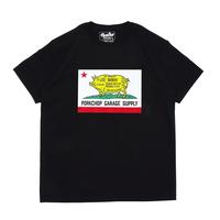 PORKCHOP - PORK CALIF TEE (ブラック)