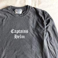 CAPTAINS HELM -#SUPPORT LOCAL L/S TEE