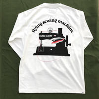 NAOSHIYA CUSTOM FACTORY - flying sewing machine ポケロンT (白×黒)
