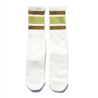 SURF SKATE CAMP - Tube socks (Khaki)