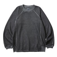 LIBERAIDERS - LOCATION COORDINATES CREW NECK (ブラック)