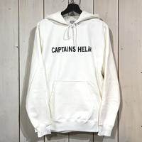 CAPTAINS HELM- TRADEMARK CITY HOODIE (WHITE)