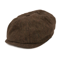THE H.W. DOG & CO.  - WASH WOOL CAS  (BROWN)