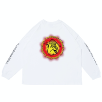 PORKCHOP - OLD PORK L/S TEE (WHITE)