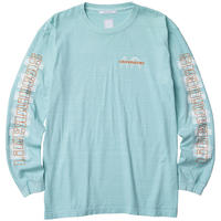 LIBERAIDERS - ORBIT LOGO L/S TEE (ミント)