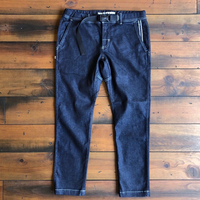 BLUE SAKURA - JERSEY DENIM CLIMBING PANTS (ワンウォッシュ)