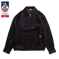 COOKMAN - Delivery Jacket 「Corduroy」 black