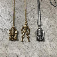 Licensed 1977 Star wars (R2D2/C3PO) Necklace
