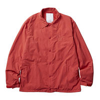 LIBERAIDERS - OVERDYED COACH JACKET (レッド)