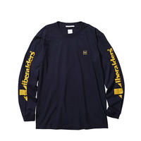 LIBERAIDERS - TRIANGLE LOGO L/S TEE (NAVY)