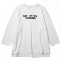 LIBERAIDERS - 2LAYER 3/4SLEEVE TEE (ホワイト)
