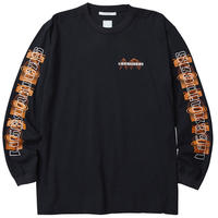 LIBERAIDERS - ORBIT LOGO L/S TEE (ブラック)
