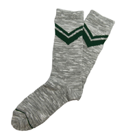 SURF SKATE CAMP - V Line Socks GRY