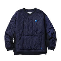 Liberaiders®︎ - LIBERAIDERS LR QUILTED PULLOVER (NAVY)