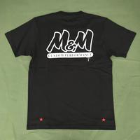 M&M - PRINT S/S T-SHIRT (BLACK)