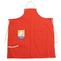 COOK MAN - Long Apron 「Stripe」 Orange